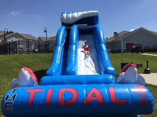 St.Louis Inflatable Water Slide Rentals